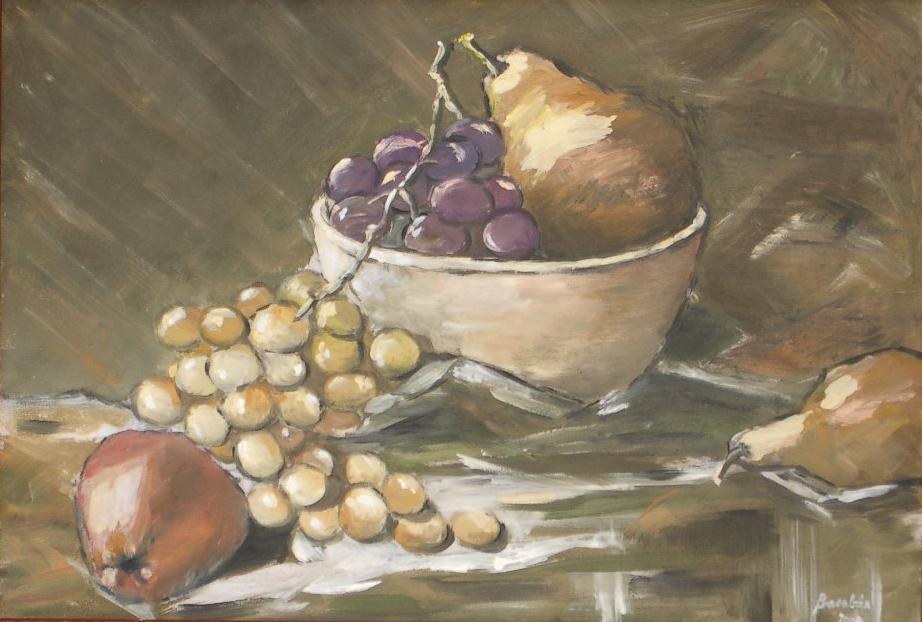 Csendélet szőlővel
